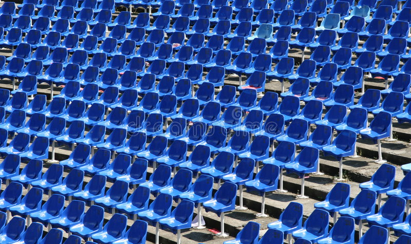 Download Empty stadium seats stock photo. Image of presentation - 9166690