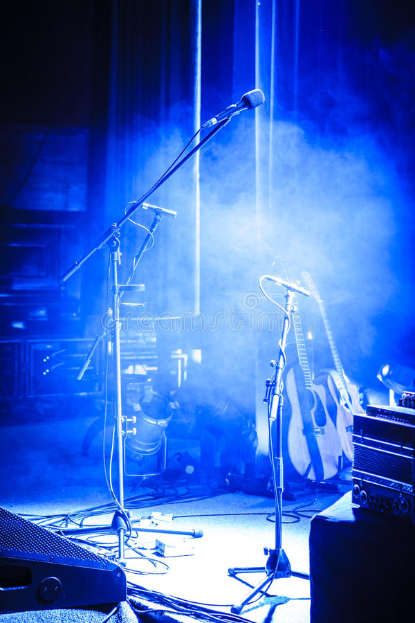 Empty stage royalty free stock photos