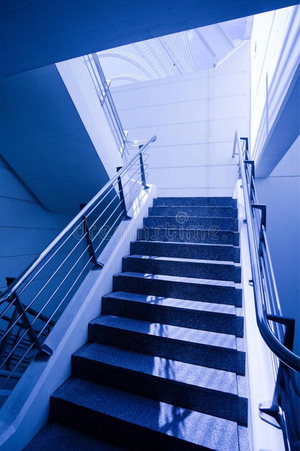 Download Empty staircase in office stock image. Image of bank, hall - 9956323