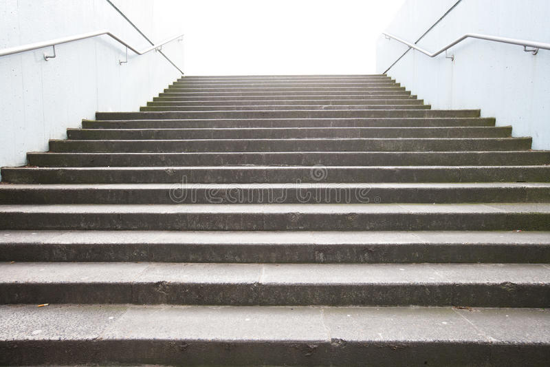 Download Empty Stairway stock image. Image of stone, railing, europe - 31842555