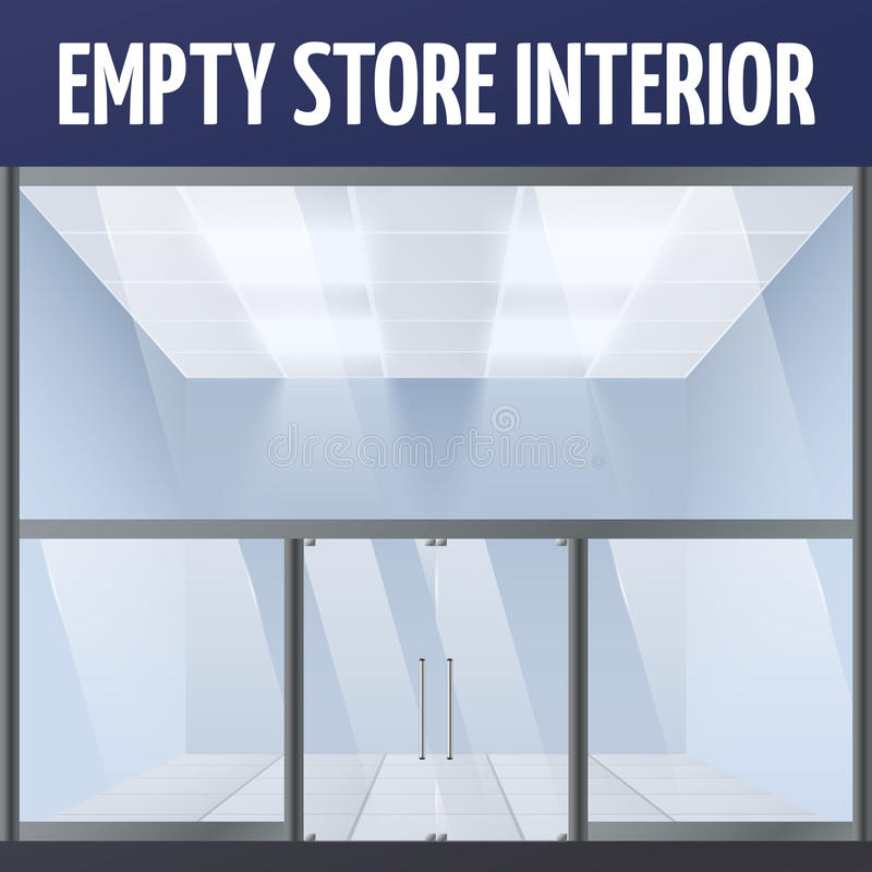 Download Empty store interior stock vector. Illustration of interior - 39503036
