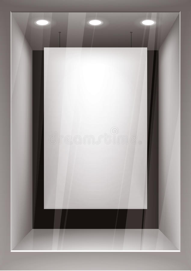Download Empty storefront stock vector. Image of center, concepts - 18548619