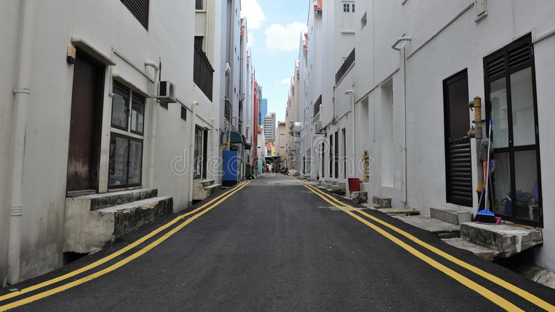 Download Empty Street stock photo. Image of eerie, asian, abandoned - 23589984