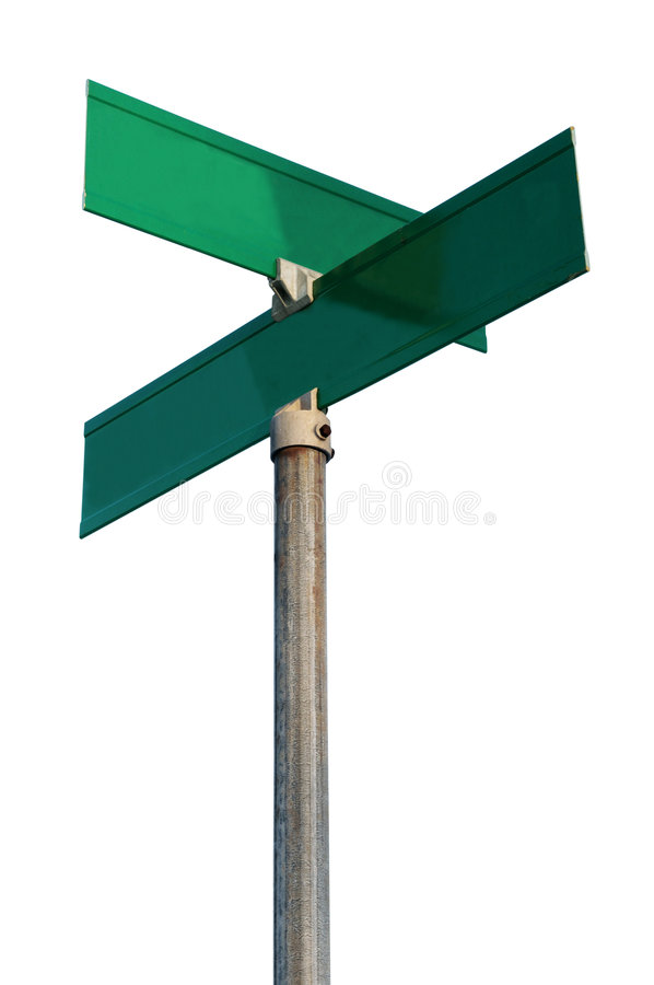 Free Empty Street Signs Stock Photography - 4149792
