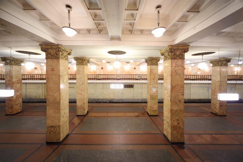 Download Empty subway station stock image. Image of platform, nobody - 20570035