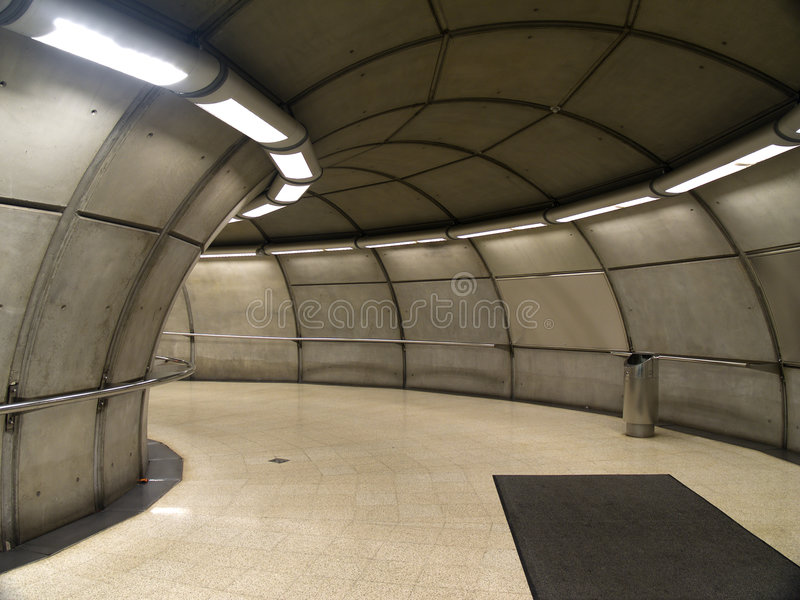 Download Empty Subway Station In Bilbao Stock Photo - Image: 1422962