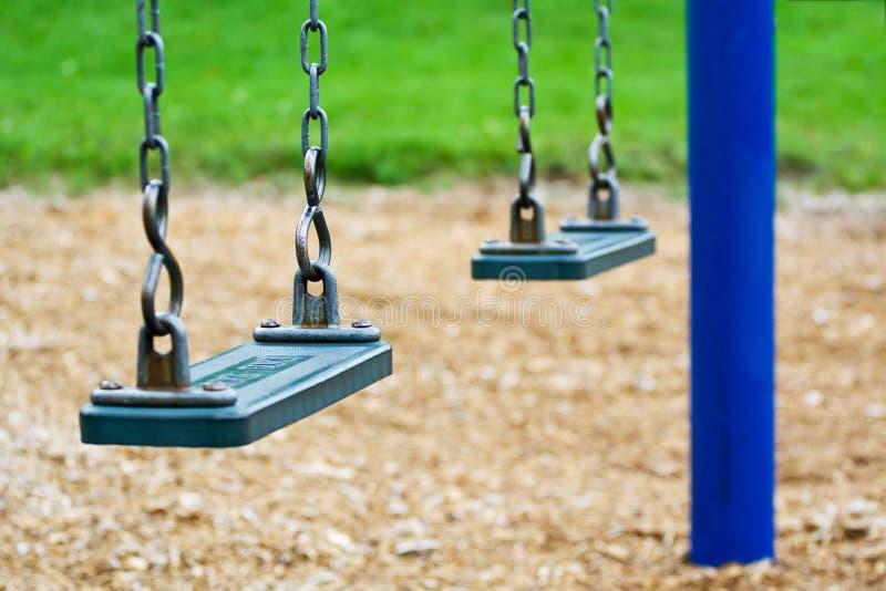 Download Empty swing stock image. Image of swing, garden, child - 6075661