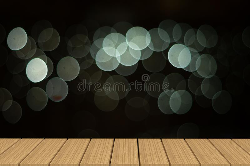 Empty table in front of light background. stock photography