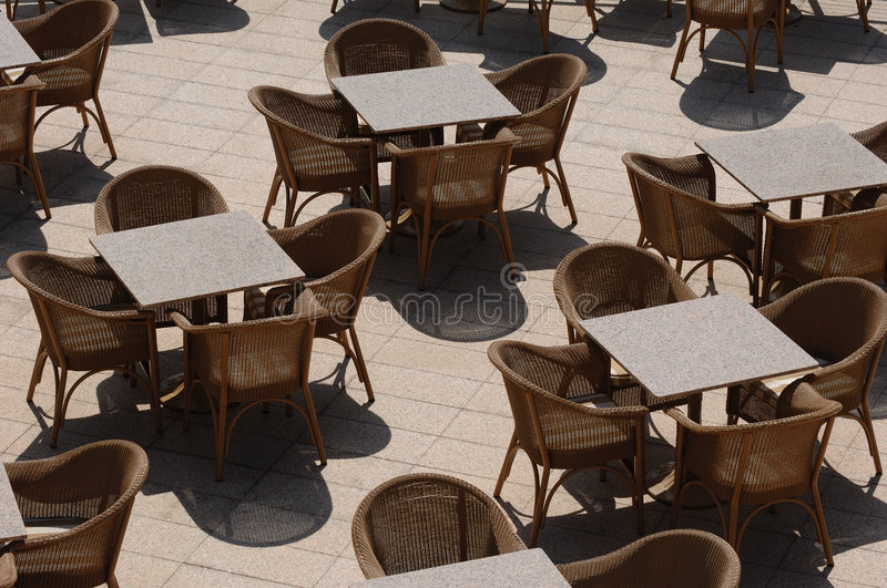 Download Empty tables stock image. Image of clean, lonely, drink - 2304429