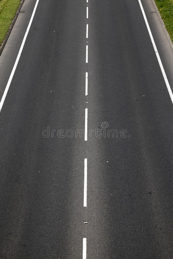 Empty tarmac road royalty free stock photos