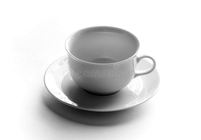 Empty tea cup royalty free stock photo