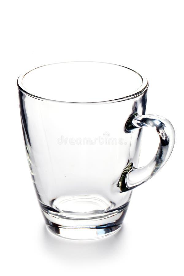 Empty Tea Glass stock photos