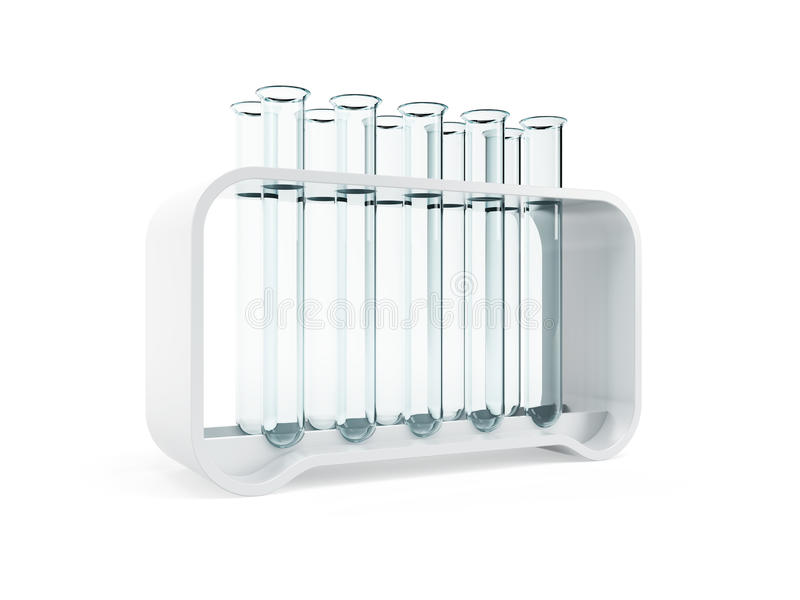 Download Empty test tubes stock illustration. Illustration of biotechnology - 39583090