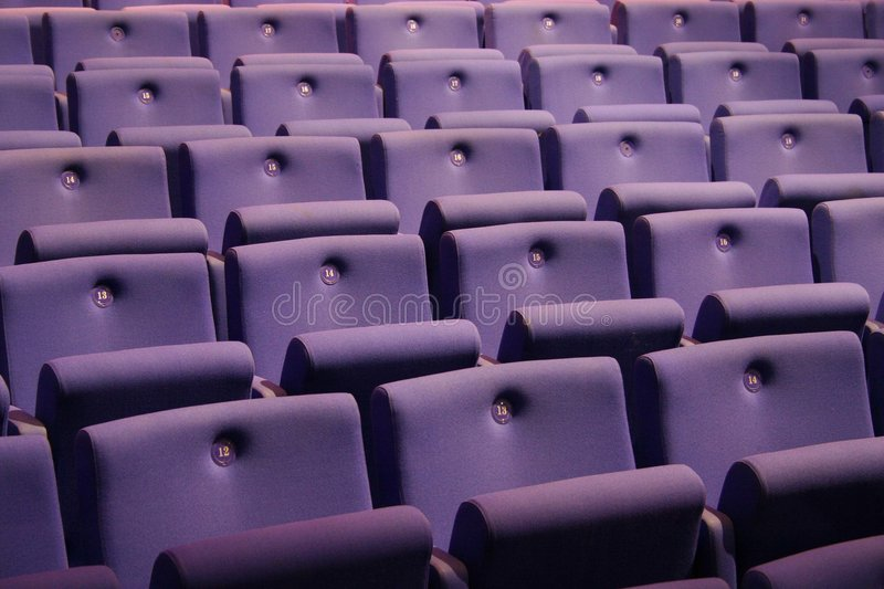 Empty theater stock images