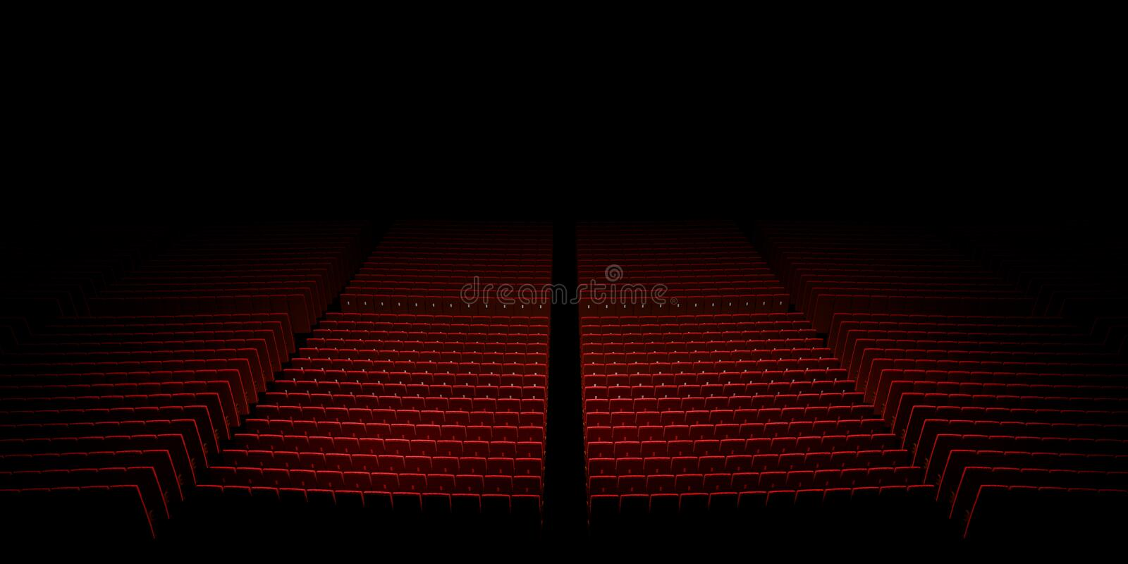 Download Empty Theater Seats Stock Images - Image: 32171254