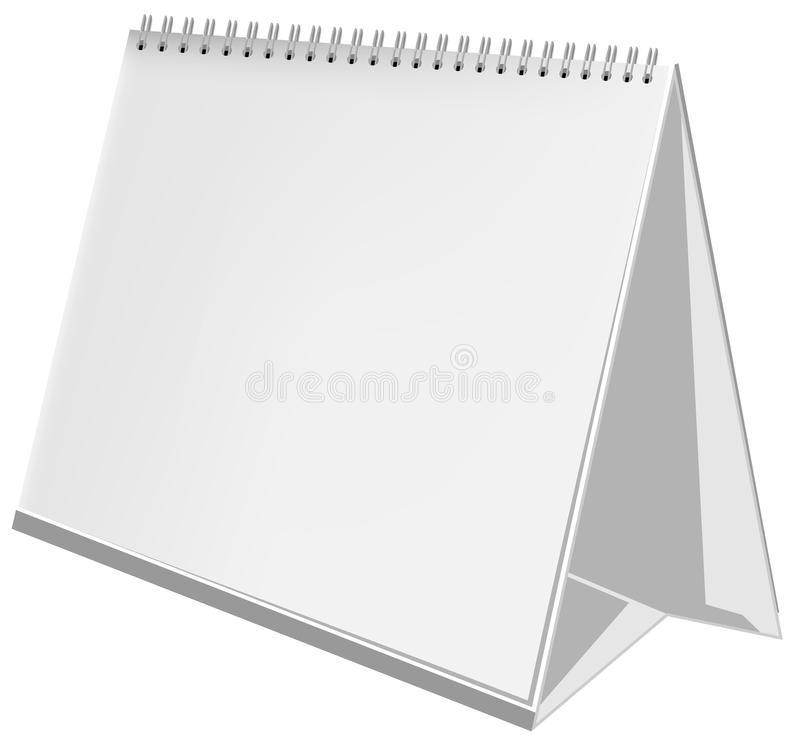 Download Empty Three-dimensional Calendar Stock Illustration - Image: 18063531