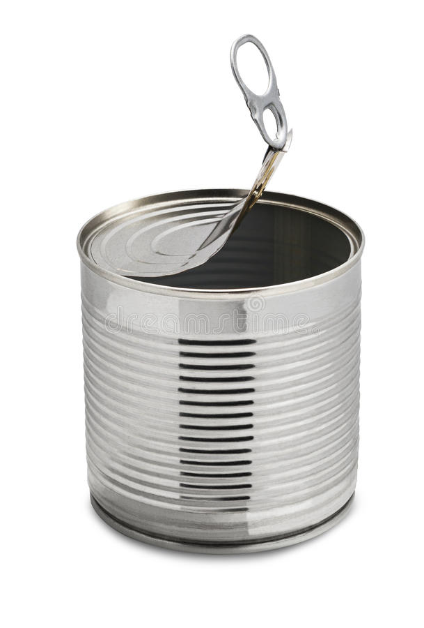 Empty Tin Can Stock Photography: Empty Tin Can Stock Photo. Image Of Empty, Silver, Objects