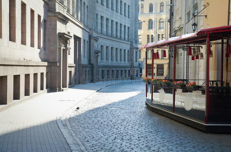 Download Empty Town Alley Royalty Free Stock Photos - Image: 21299788