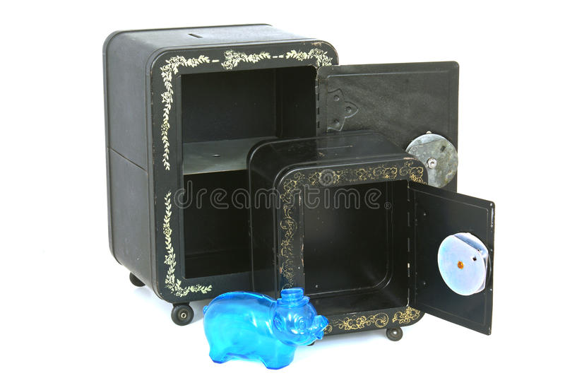 Download Empty Toy Banks With Piggy Bank Stock Photos - Image: 21560843