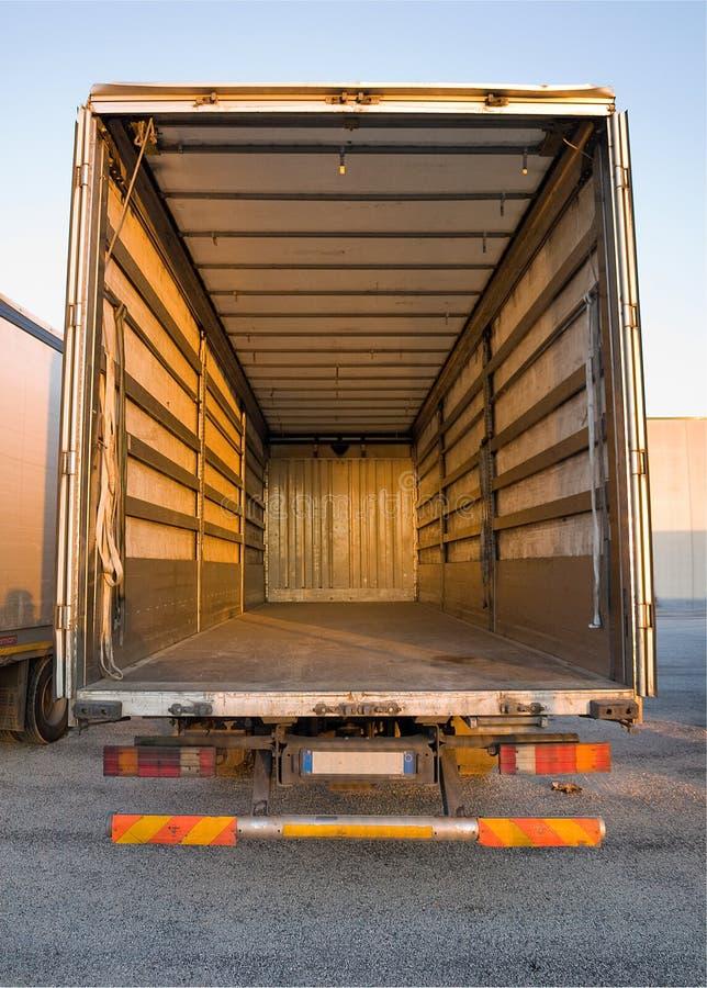Empty truck royalty free stock photos