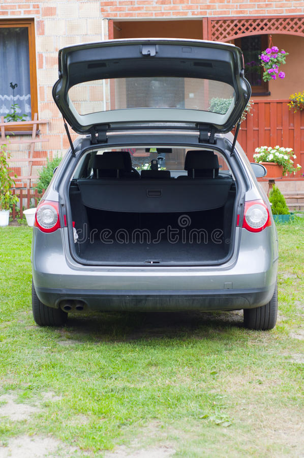 Download Empty trunk of the car stock image. Image of modern, drive - 19986651