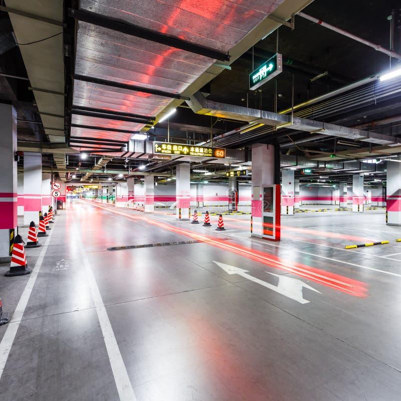 Download Empty underground parking stock photo. Image of garage - 38756746