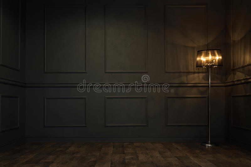Empty vintage room royalty free stock photos