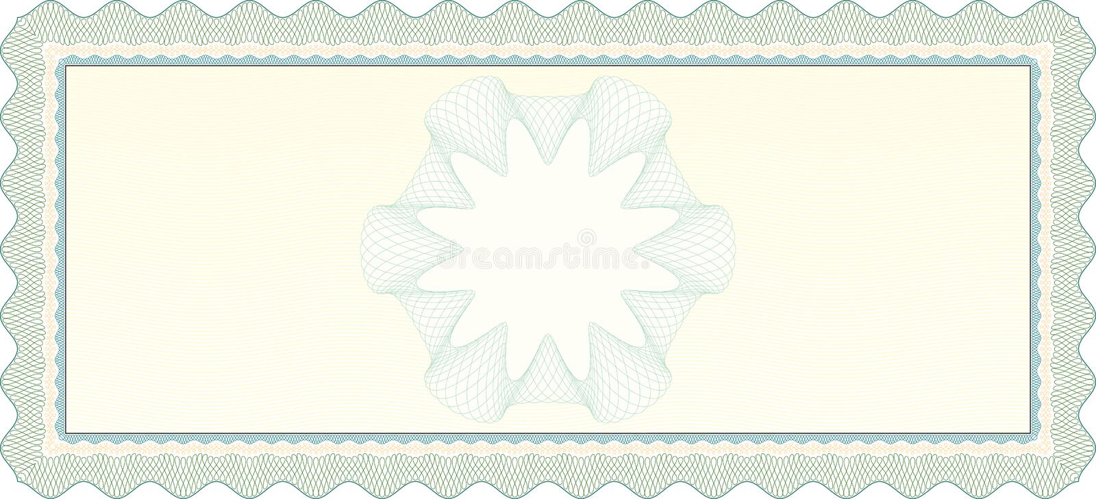 Download Empty Voucher Coupon stock vector. Illustration of frame - 28451805