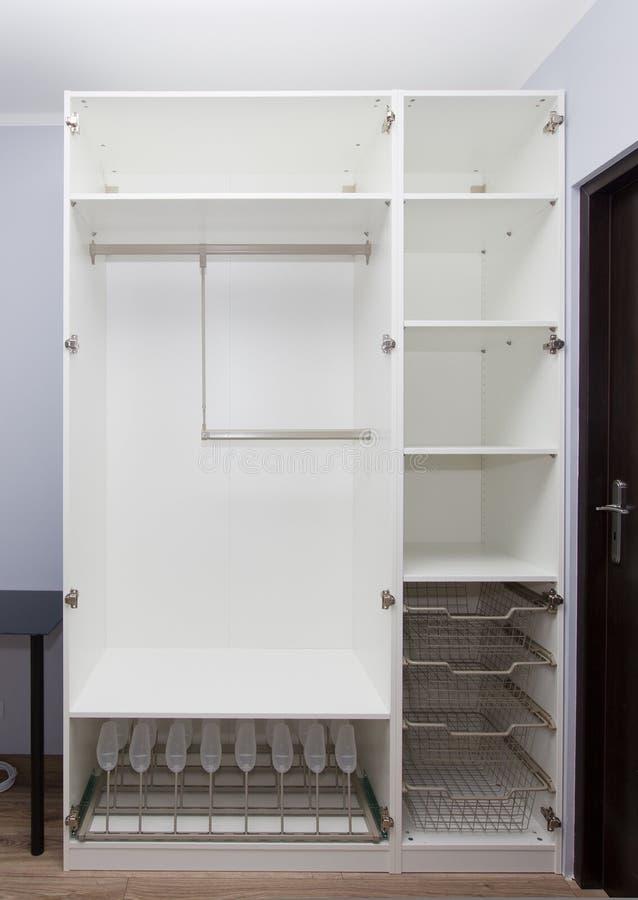 Empty Wardrobe Stock Image Image Of Fashion Indoors