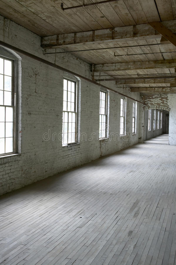 An Empty Warehouse royalty free stock image