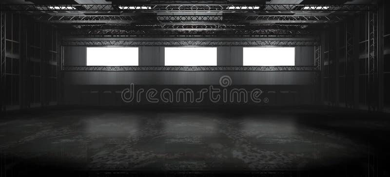 Download Empty Warehouse stock illustration. Image of illustration - 19752279