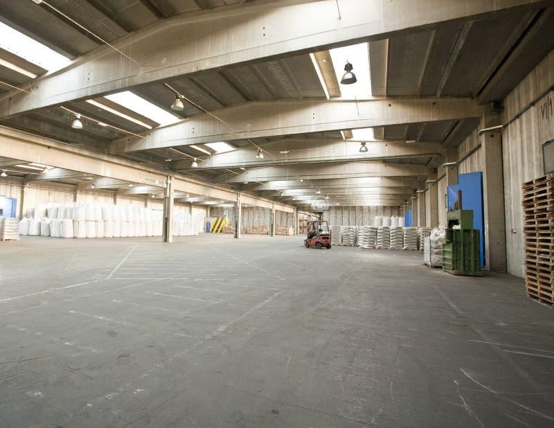 Download Empty warehouse stock photo. Image of merchandise, building - 26768560