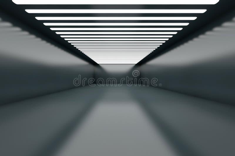 Empty Warehouse vector illustration