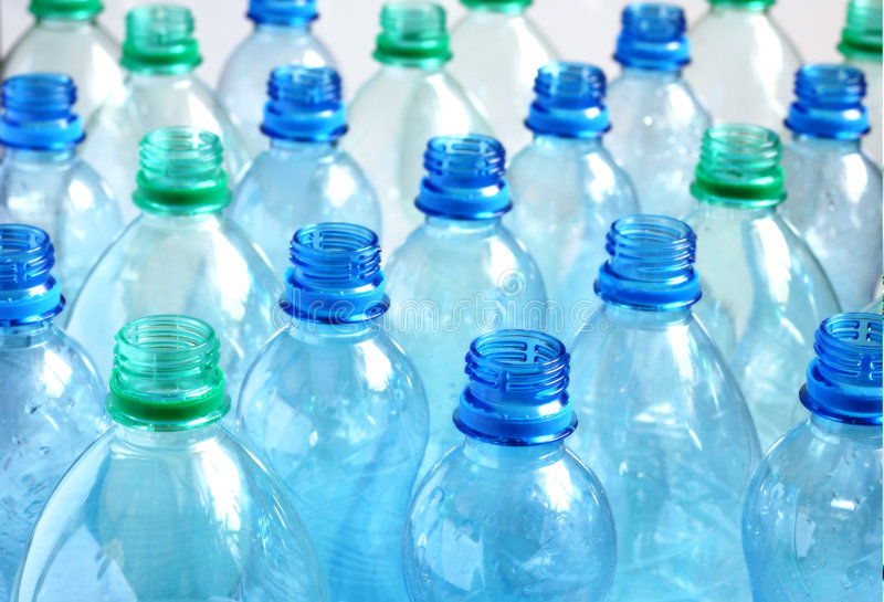 Empty Water Bottles Royalty Free Stock Photography