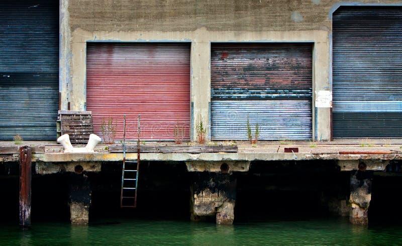 Empty Wharf Royalty Free Stock Photo