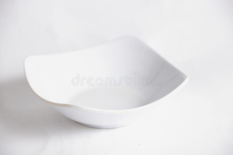 Empty White Bowl royalty free stock photo