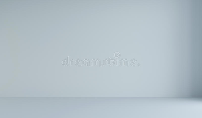 Empty white minimalist room. 3d rendering. White background. Empty white minimalist room. 3d rendering royalty free stock image