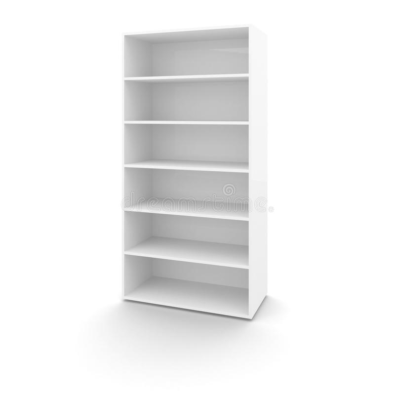 Download Empty white office cabinet stock illustration. Image of office - 34595500