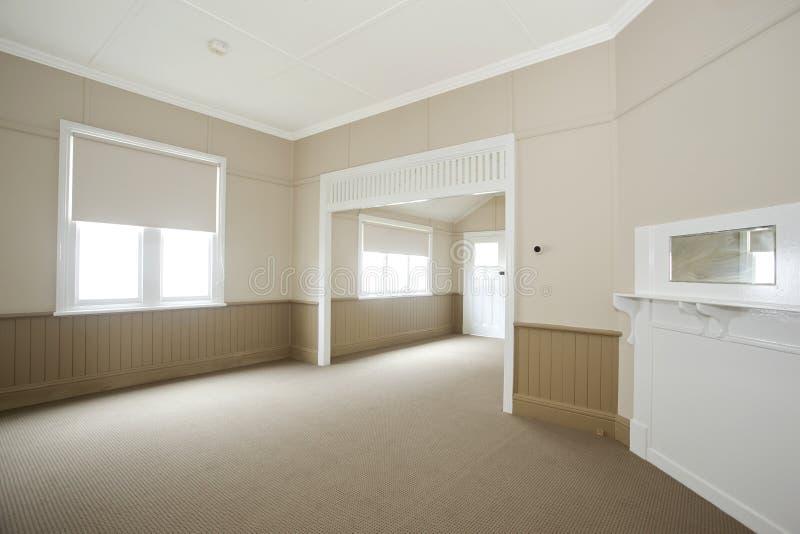 Empty white room stock images