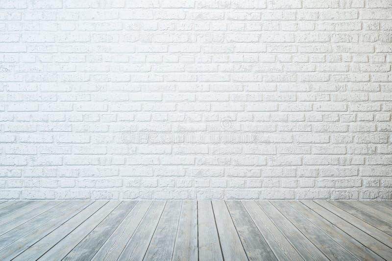 Empty white room stock image