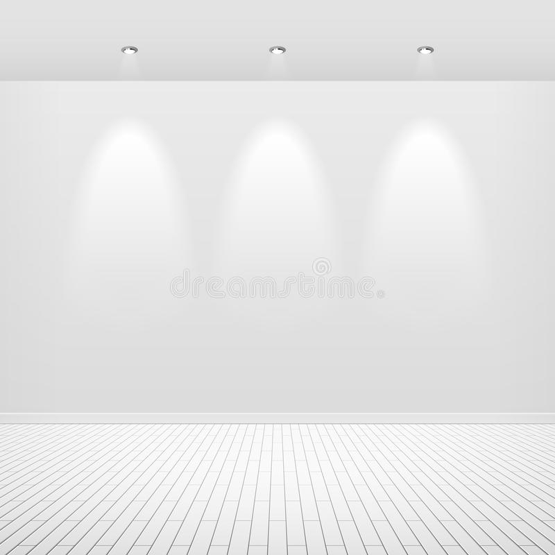 Free Empty White Wall Royalty Free Stock Photography - 15859427