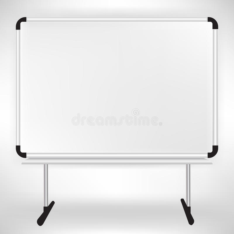 Download Empty whiteboard stock vector. Illustration of magnetic - 22310283