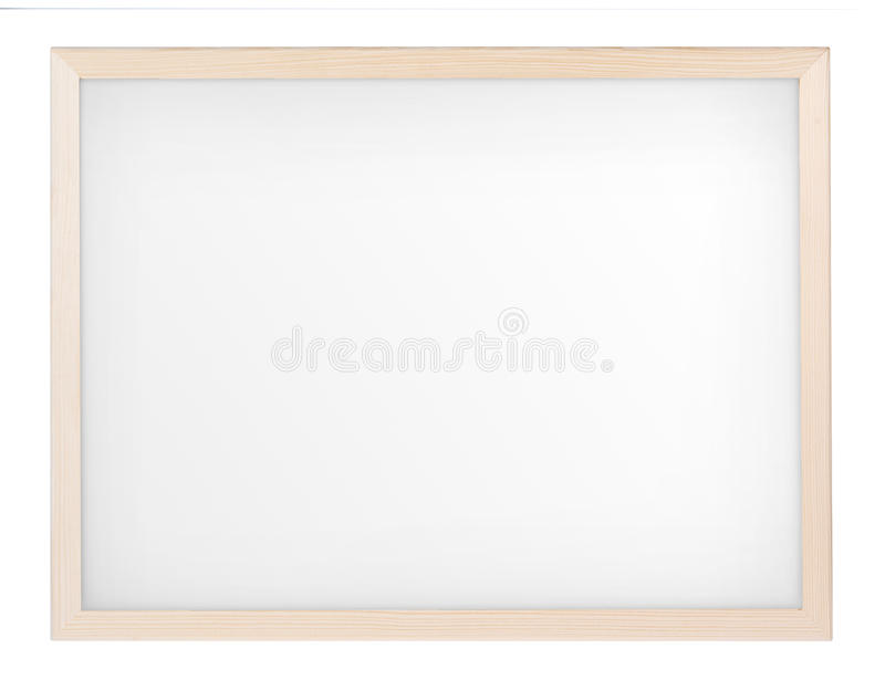 Download Empty Whiteboard (magnetic Board) Isolated On White Stock Photo - Image: 32084256