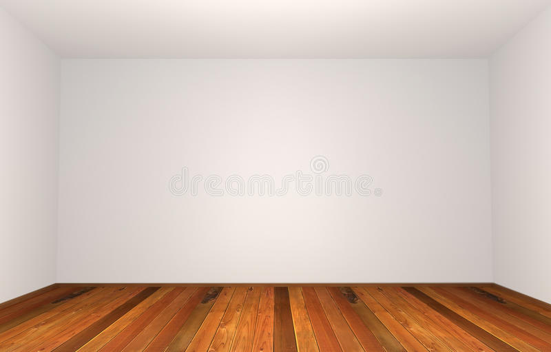 Download Empty wide room stock illustration. Image of real, decoration - 17178872