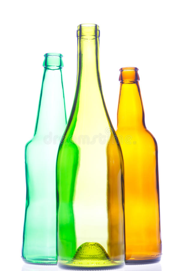 Free Empty Wine And Beer Bottles Stock Images - 18426334