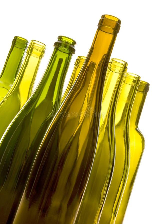 Empty wine bottles stock image image of fragile color 4471855 - Empty colored wine bottles ...
