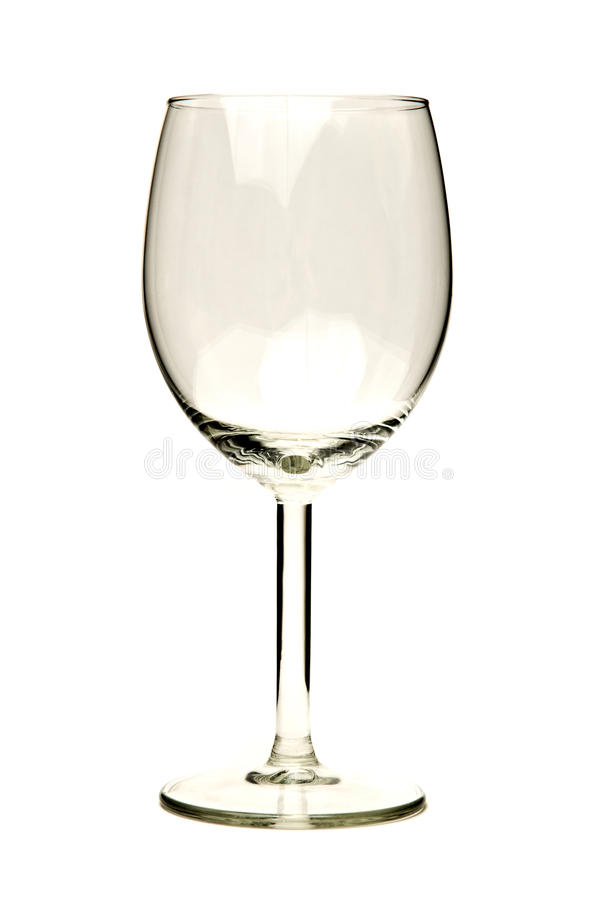 Free Empty Wine Glass Royalty Free Stock Image - 11942766