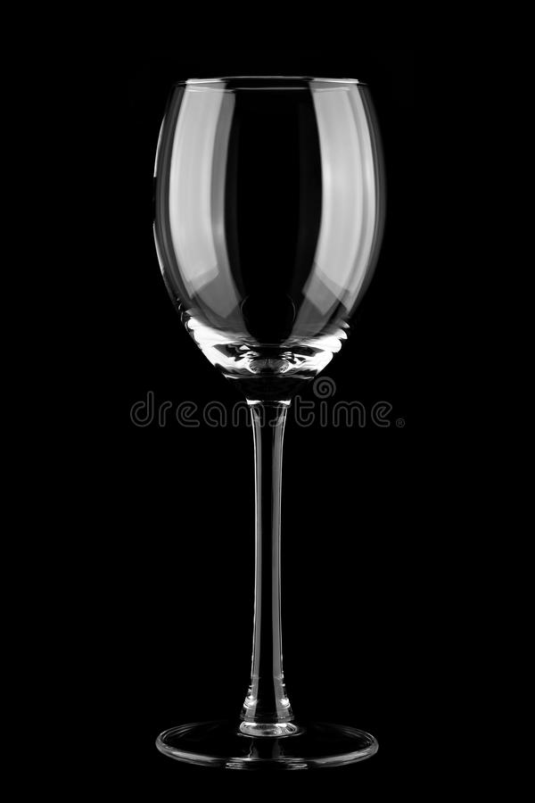 Download Empty wine glass stock image. Image of reflection, wine - 16420159