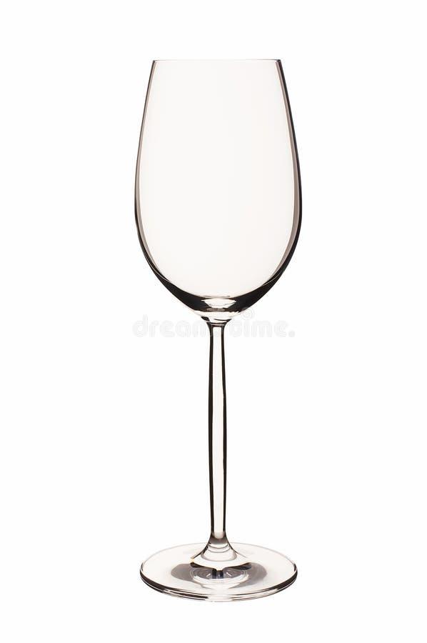 Empty wine glass royalty free stock photos