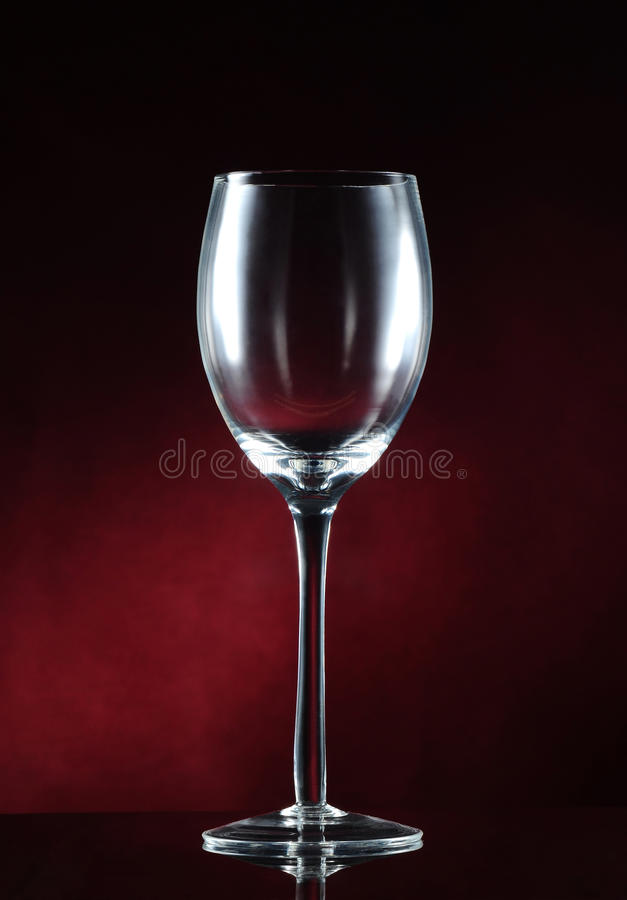 Download Empty wine glass stock image. Image of celebrate, background - 26495061